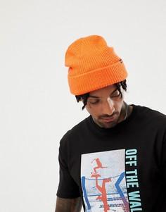 Оранжевая шапка-бини Vans VN000K9YFLM1 - Оранжевый