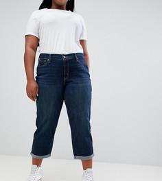 Темные джинсы бойфренда Levis Plus - Синий