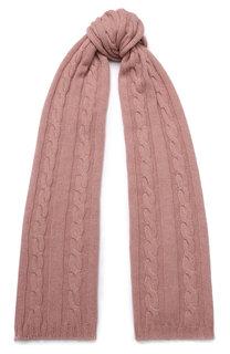 Кашемировый шарф фактурной вязки Kashja` Cashmere