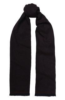 Кашемировый шарф с бахромой Ermenegildo Zegna