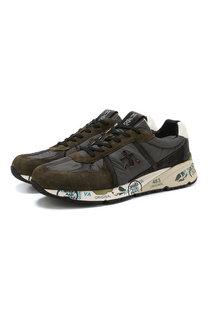 Комбинированные кроссовки Mase на шнуровке Premiata