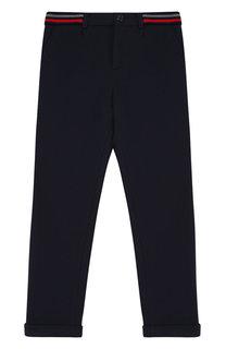 Хлопковые брюки прямого кроя Dolce & Gabbana