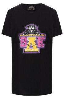 Хлопковая футболка с круглым вырезом Balmain x Beyoncé Balmain