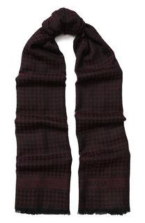 Кашемировый шарф с бахромой Dolce & Gabbana