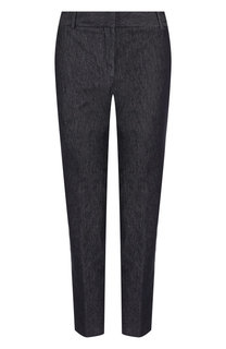Укороченные джинсы прямого кроя Theory