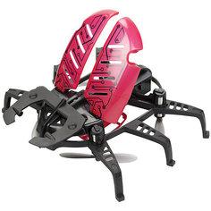 """Радиоуправляемый робот Silverlit """"Летающий жук"""", чёрный с красными крыльями"""