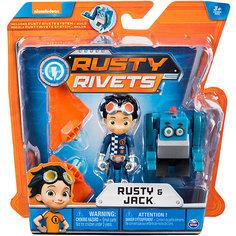 """Малый строительный набор Spin Master """"Rusty Rivets"""" с фигуркой героя, в ассортименте"""