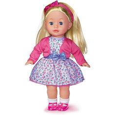 Кукла Карапуз в белом платье, озвученная, 40 см