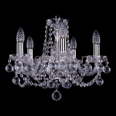 Подвесная люстра 1402/5/141/Ni/Balls Bohemia Ivele Crystal