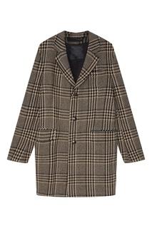 Короткое пальто в клетку Drykorn