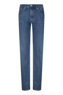 Джинсовые синие брюки Calvin Klein
