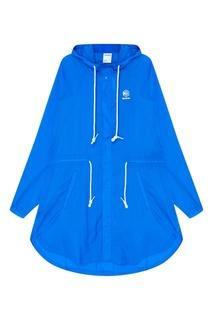 Синяя куртка с капюшоном Reebok