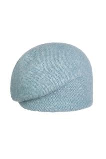 Женская голубая шапка Canoe