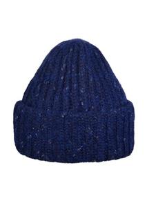 Синяя шапка с отворотом Canoe