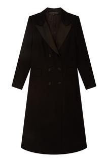 Пальто черное Alexander Terekhov