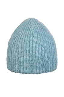 Голубая шапка с люрексом Canoe