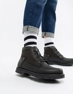 Ботинки на шнуровке Caterpillar - Черный