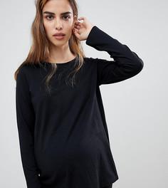 Комбинируемый пижамный лонгслив ASOS DESIGN Maternity - Черный