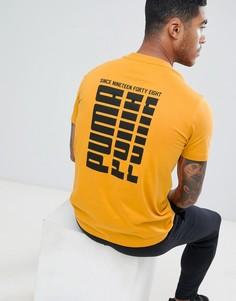 Желтая футболка с логотипом Puma 85240425 - Желтый