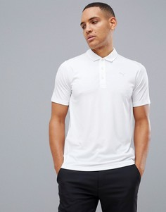 Белая футболка-поло Puma Golf Pounce - Белый