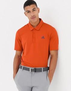 Оранжевая футболка-поло adidas Golf Ultimate 365 - Оранжевый