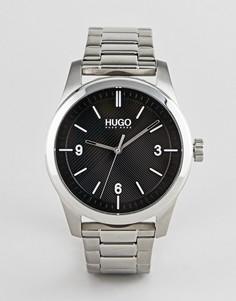 Часы HUGO 1530016 Create - Серебряный