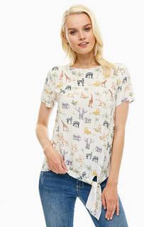 Белая блуза с застежкой на спине Sugarhill Boutique