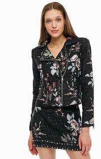 Куртка косуха с вышивкой Liu Jo