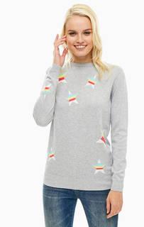 Джемпер серого цвета с длинными рукавами Sugarhill Boutique