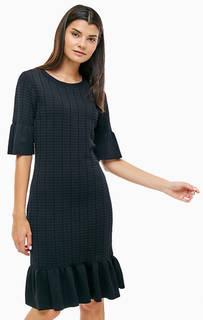 Трикотажное платье с расклешенными рукавами Michael Michael Kors
