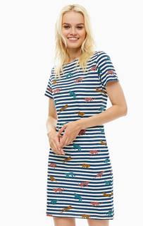 Хлопковое платье в полоску Sugarhill Boutique