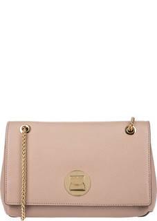 Кожаная сумка с откидным клапаном Liya Coccinelle