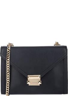 Кожаная сумка через плечо Whitney Michael Michael Kors