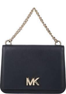 Кожаная сумка через плечо с короткой ручкой Mott Michael Michael Kors