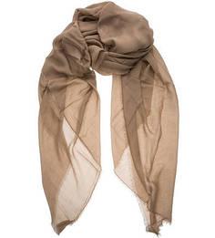Палантин коричневого цвета Coccinelle