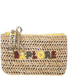 Плетеная ключница с вышивкой Tommy Hilfiger