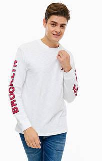 Хлопковая футболка с длинными рукавами Tommy Jeans