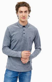 Хлопковая футболка поло с длинными рукавами Wrangler