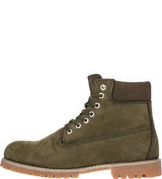 Ботинки из нубука с утепленной подкладкой New York Affex
