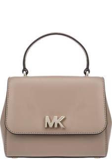 Маленькая кожаная сумка с короткой ручкой Mott Michael Michael Kors