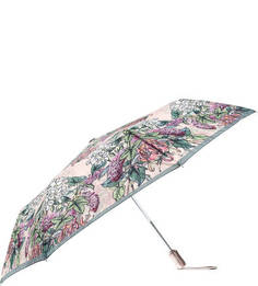 Складной зонт с цветочным принтом на куполе Goroshek
