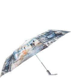 Складной зонт с сатиновым куполом Goroshek