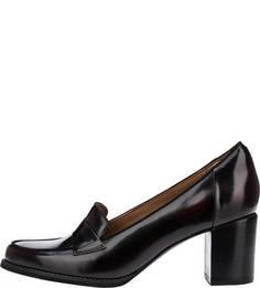 Бордовые туфли из натуральной кожи Tarah Grace Clarks