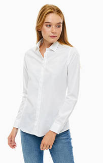 Белая рубашка из хлопка Mexx