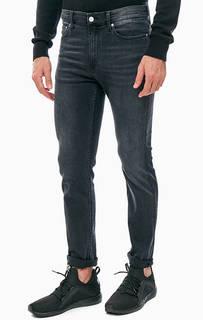 Зауженные серые джинсы с низкой посадкой CKJ 026 Calvin Klein Jeans