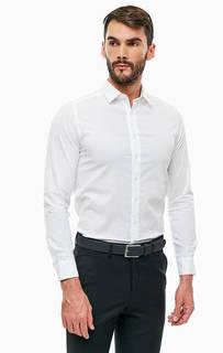 Рубашка из хлопка белого цвета Mexx