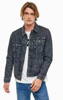 Темно-серая джинсовая куртка на болтах Levis®