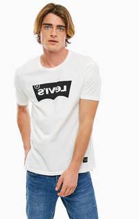 Хлопковая футболка с принтом Line 8 Levis®
