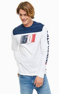 Хлопковая футболка с длинными рукавами Levis®