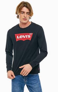 Черная футболка с логотипом бренда Levis®